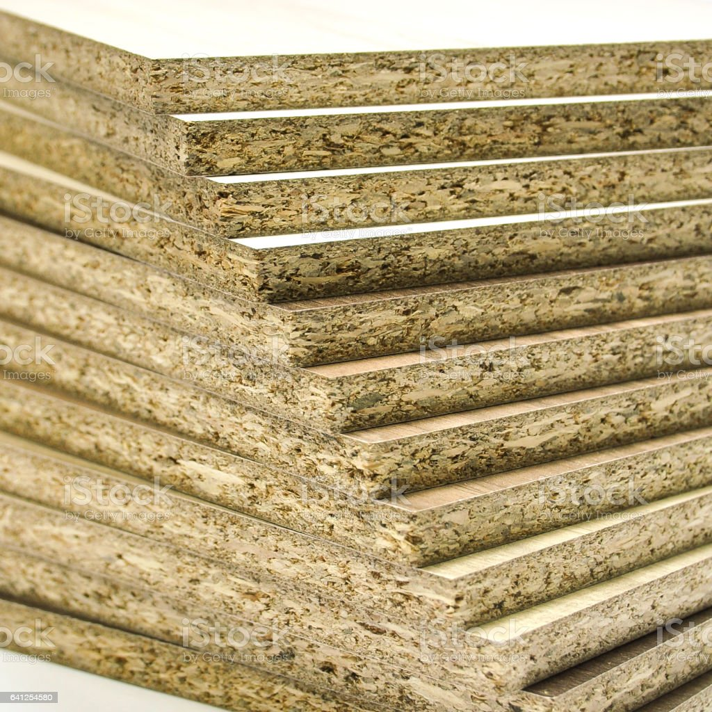 Particle Board Wood Royalty Free Stock Photo
