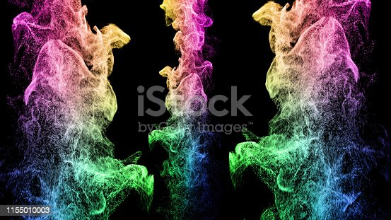 istock Particle Colorful 1155010003