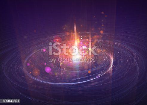 istock particle motion, scientific and technological background 629533394
