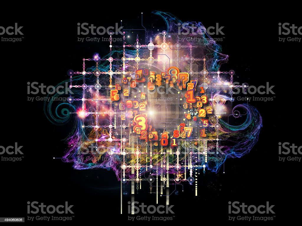 Particle of Reality stock photo