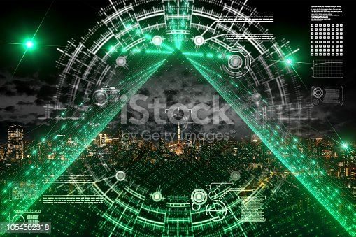 istock Particle string city 1054502318
