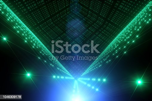 istock Particle string idea 1046309178