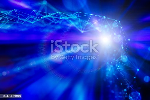 istock Particle string idea 1047398558