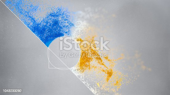 899255684istockphoto Particles background 1043233292