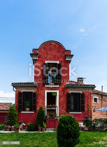 A nice house in Agliano, Asti.