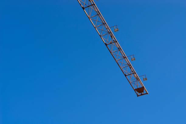 particular tower crane - foto stock