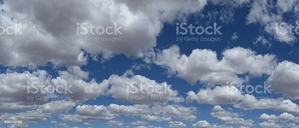 Partly Cloudy stock photo