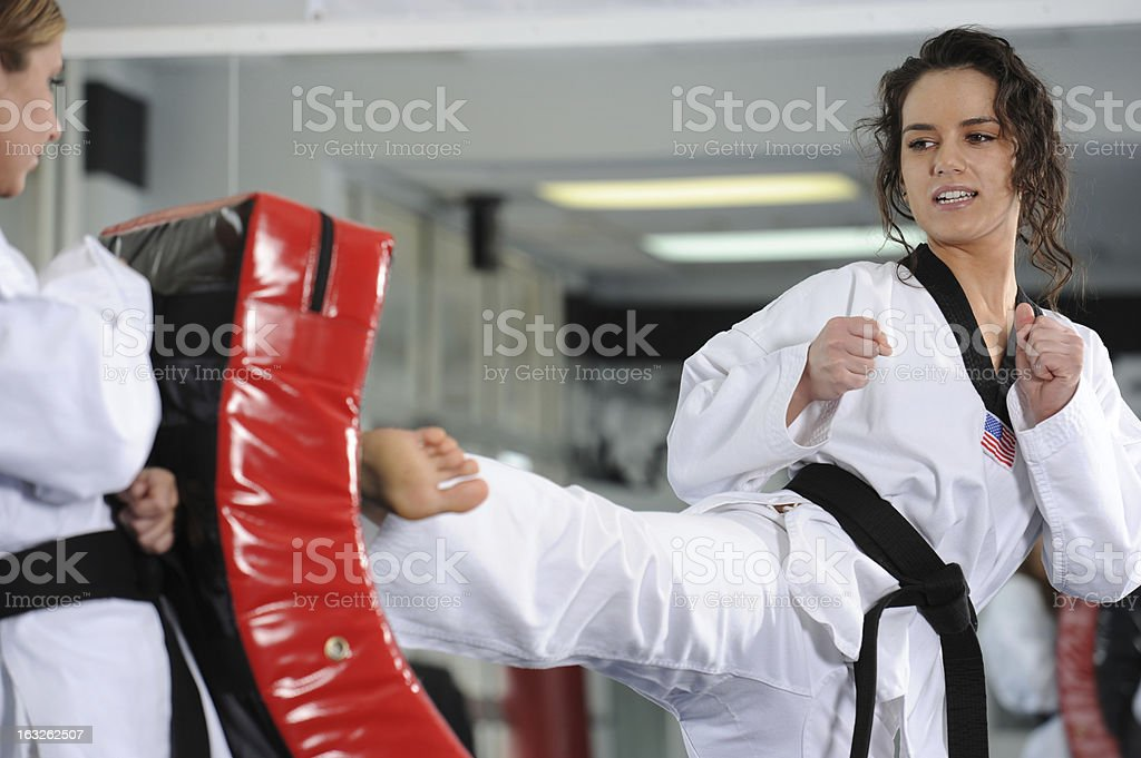 Partner training stock photo