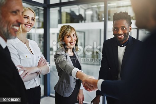 istock Partnering together to achieve their greatest success yet 904049392