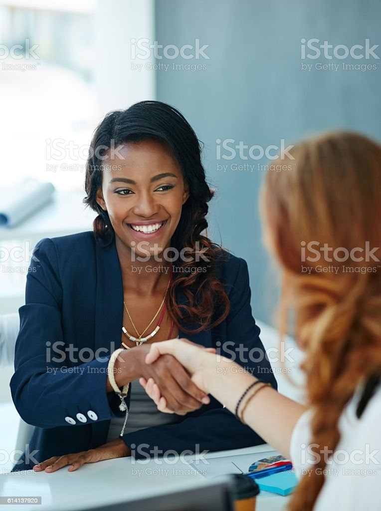 Partnering with the best to be the best stock photo