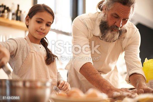 istock Partners in baking 514343565