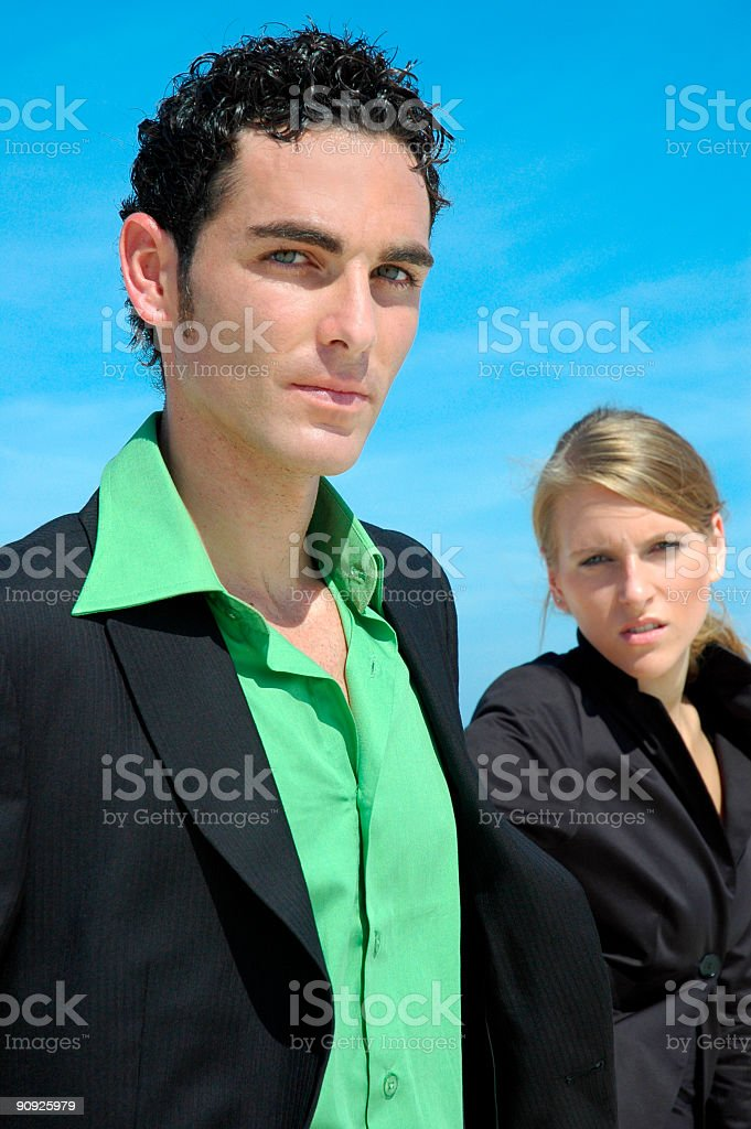 Partners royalty-free stock photo