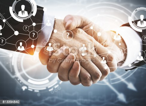 istock Partnership concept 813394840