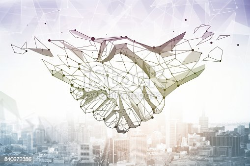 istock Partnership concept 840672386