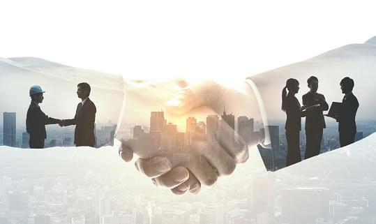 Partnerschaft Von Businesskonzept Stockfoto und mehr Bilder von Abmachung