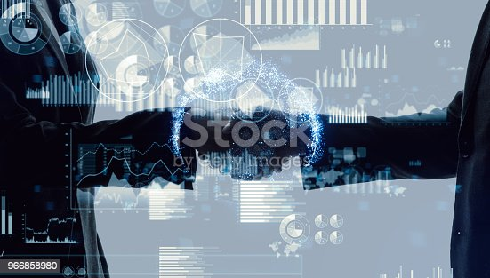istock Partnership of business concept. 966858980