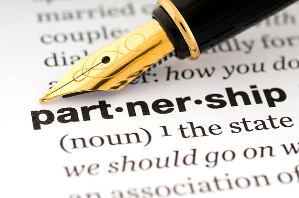 Partnership stock photo