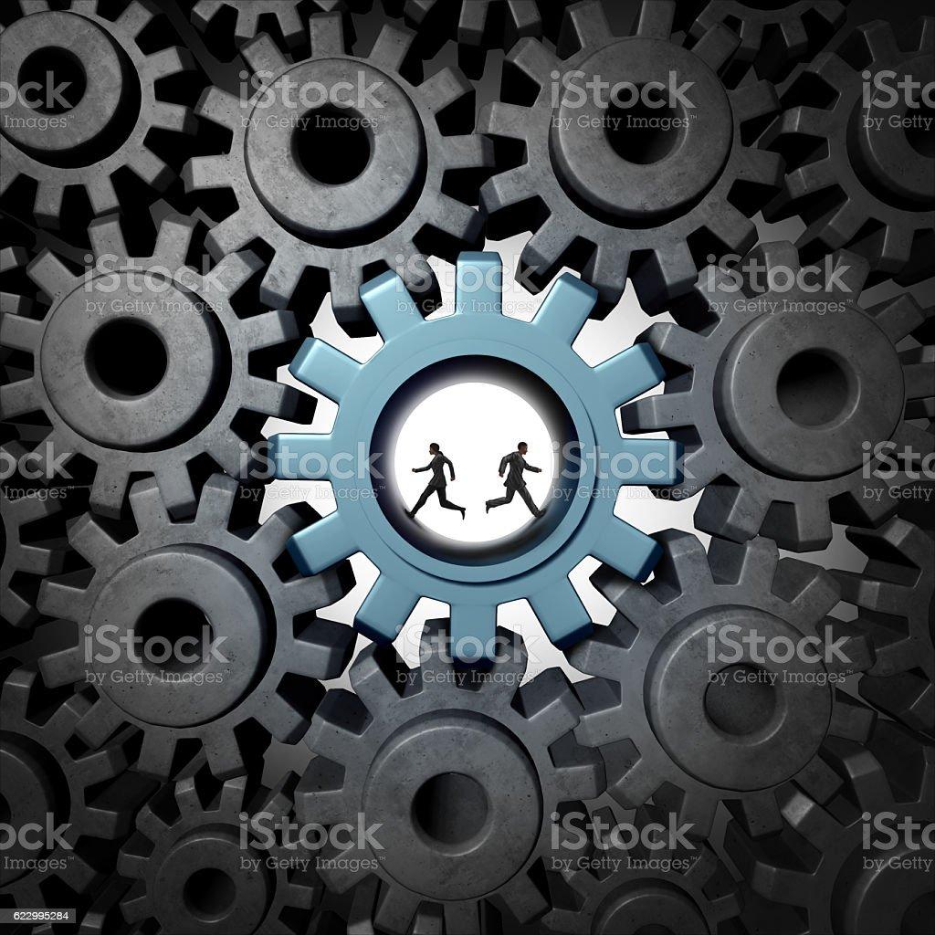 Partnership Problem Concept stock photo