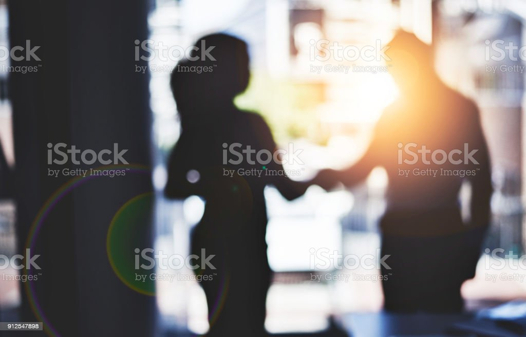 Partnerships are the backbone to strengthening business stock photo