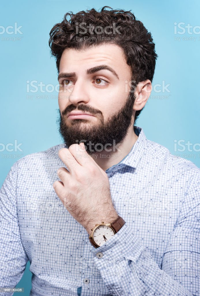 Dunkle haare mann dunkle Haare