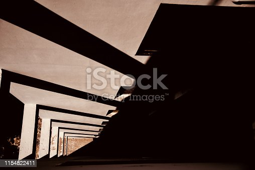istock A parts of a architectural building with shadows 1154822411