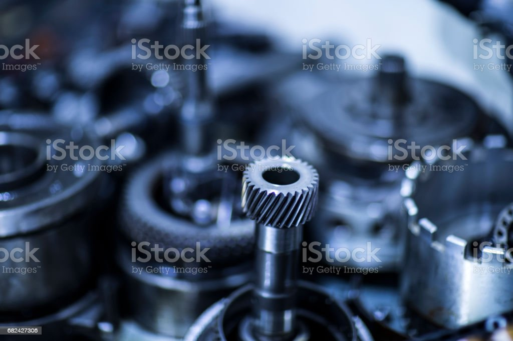 Parts Of Automatic Transmission royalty-free stock photo