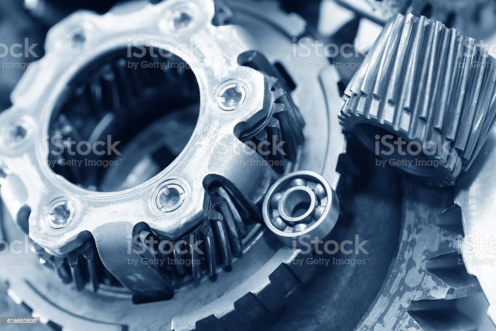 Parts Of Mechanism stock photo