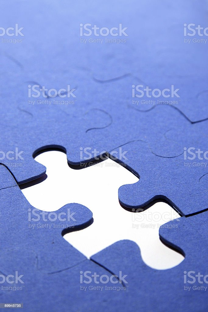parts of puzzle royalty-free stock photo