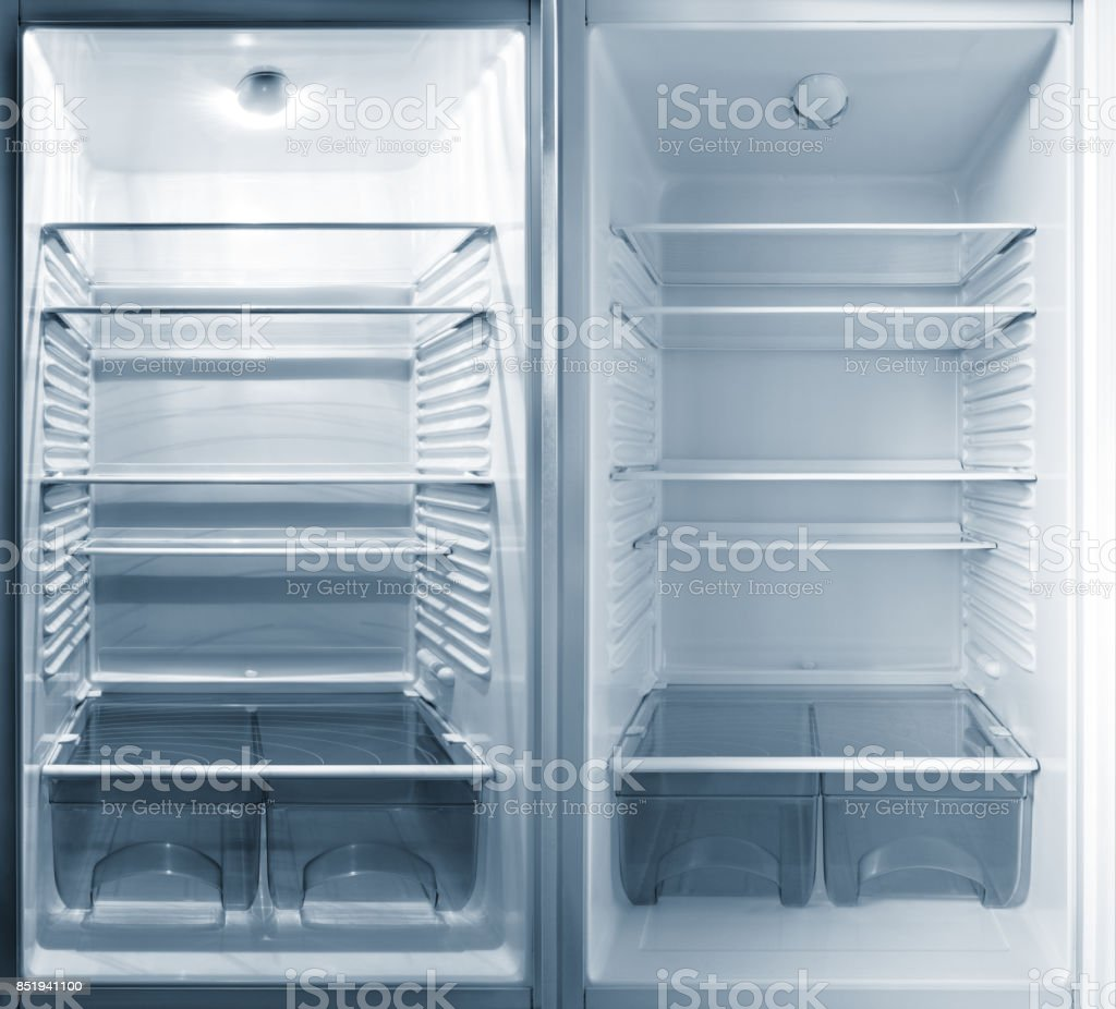 Parts of the refrigerator. stock photo