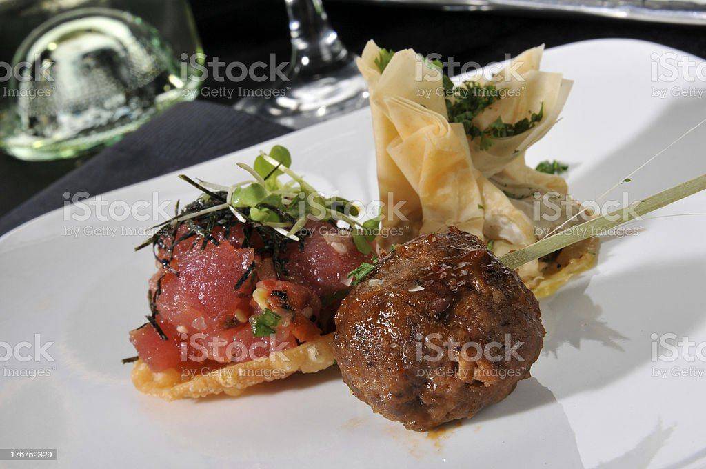 Party appetizers royalty-free stock photo