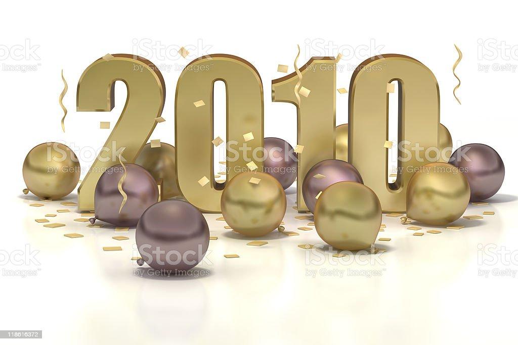 Party Balloons 2010 stock photo