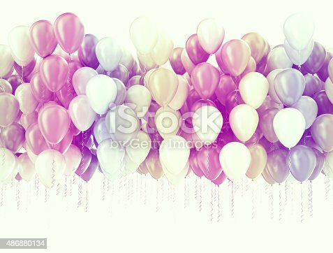 istock Party balloons background 486880134