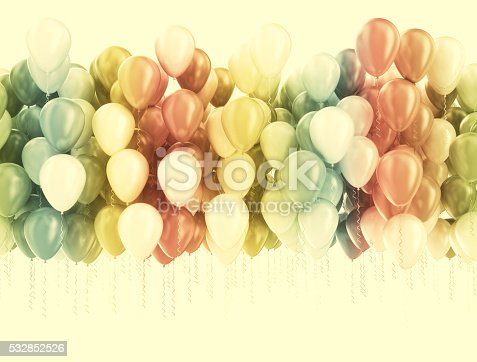 istock Party balloons background 532852526