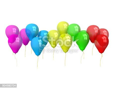 815229514 istock photo party balloons isolated on white 504580704