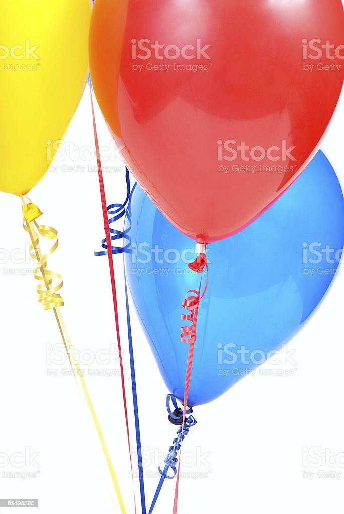 party balloons royalty free stockfoto