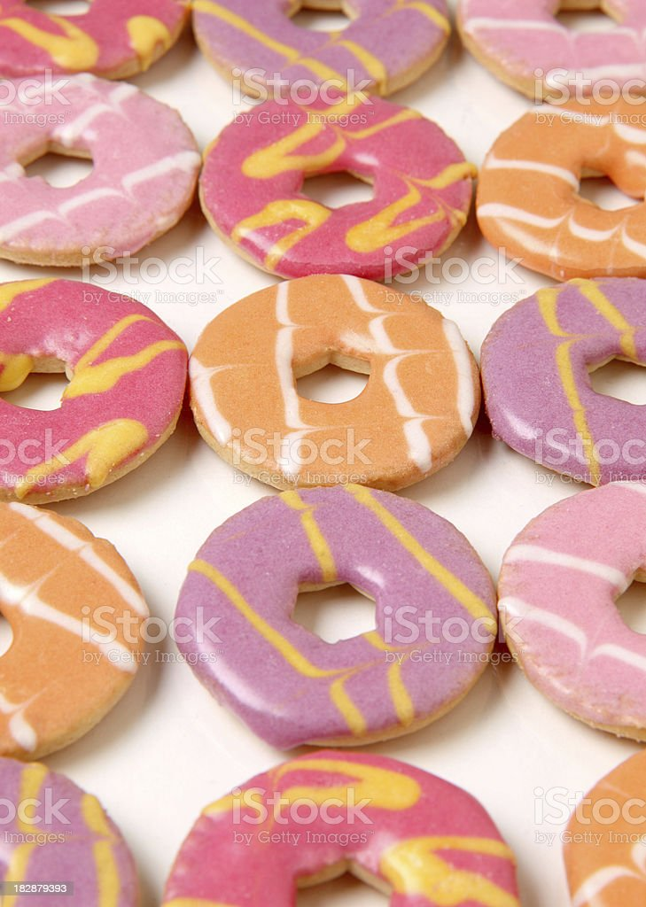 Party Biscuits royalty-free stock photo