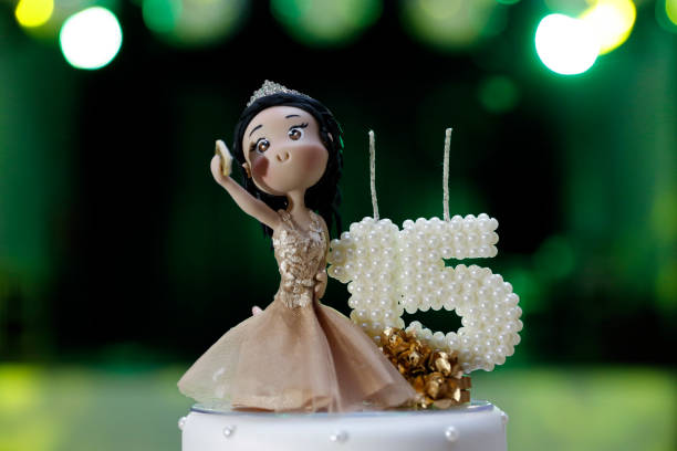 Best Number 15 Cake Candle Birthday Stock Photos Pictures