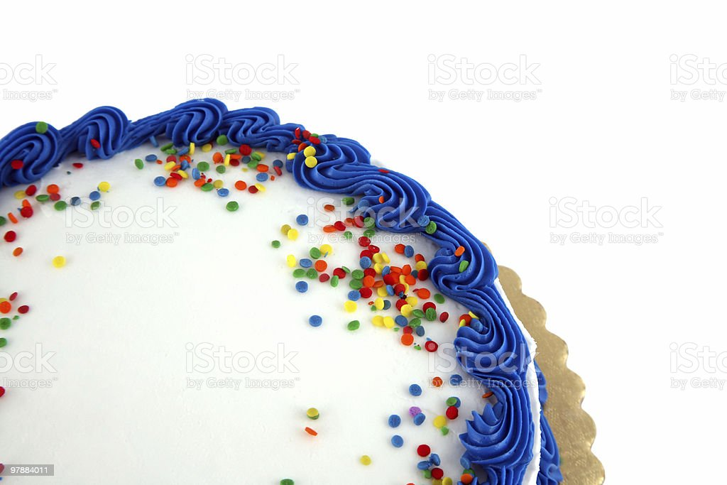 Party cake stock photo