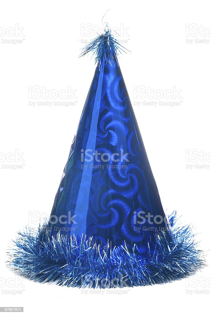 Party cap. royalty-free stock photo
