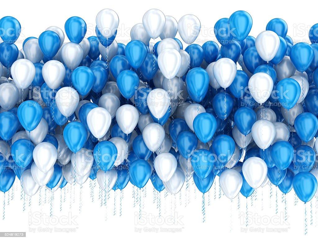 Party celebration balloons stock photo