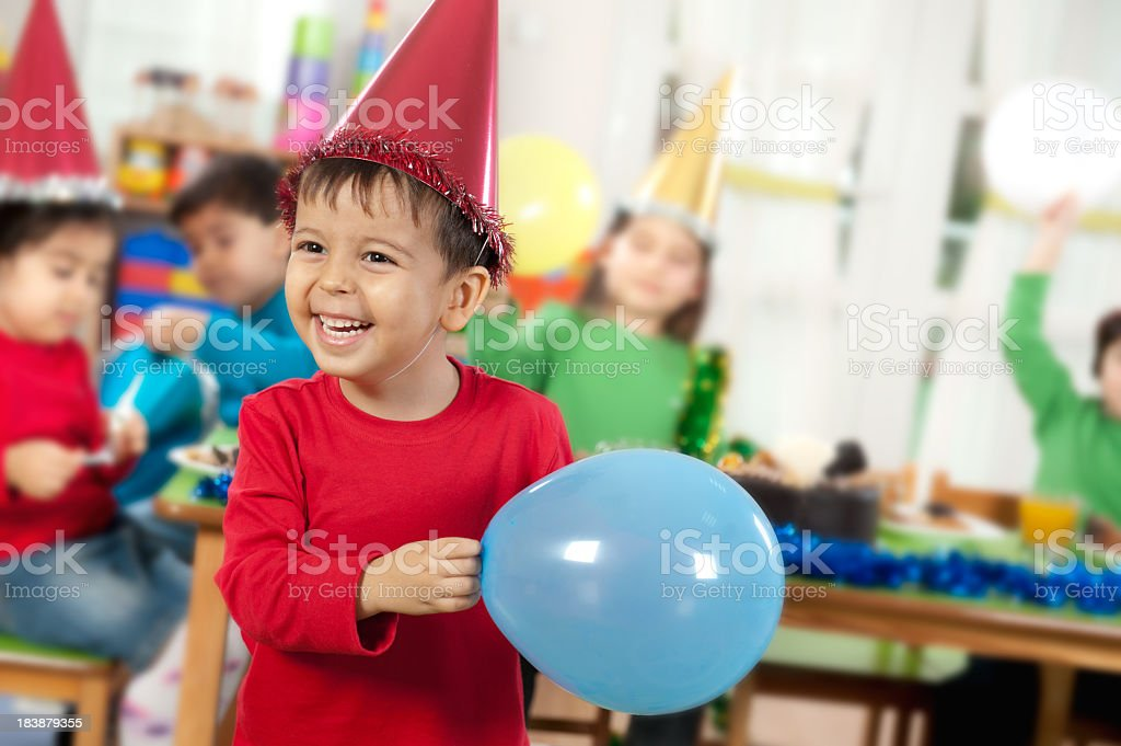 Party Child royalty-free stock photo