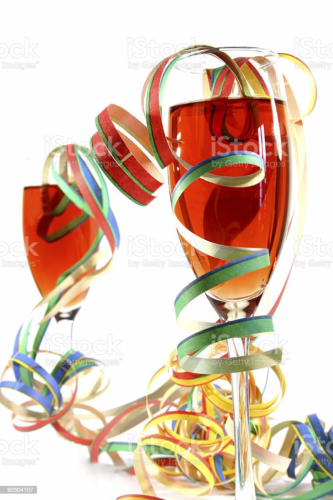 Party Cocktails royalty-free stock photo