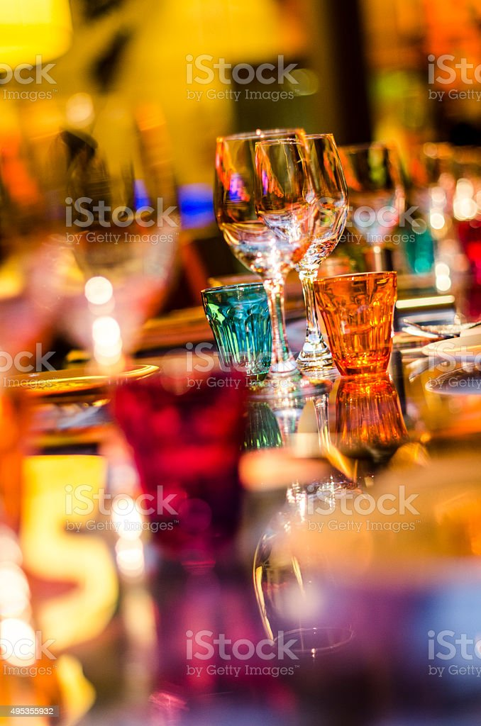 party colours stock photo