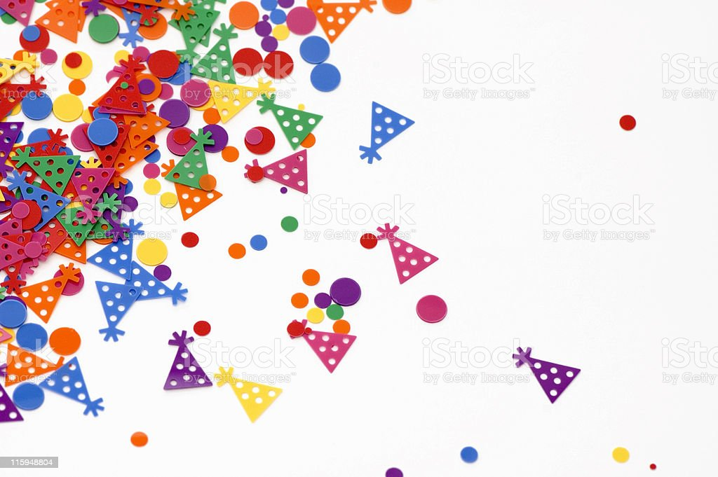 Party Confetti royalty-free stock photo