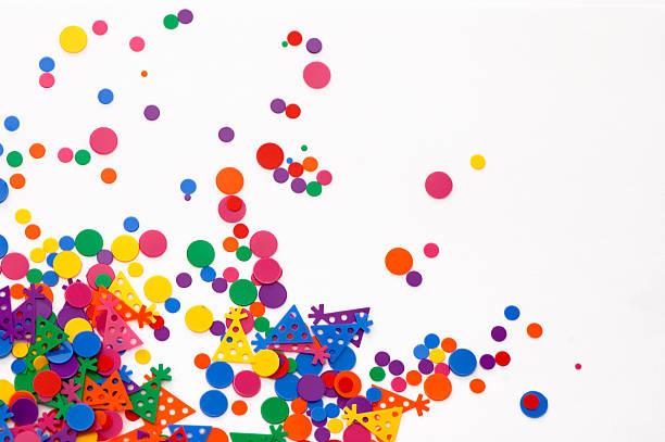 Party Confetti stock photo