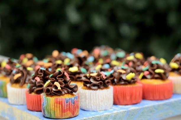 Party Cupcake stock photo