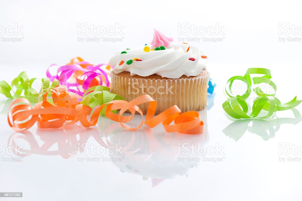 party cupcake royalty-free stock photo