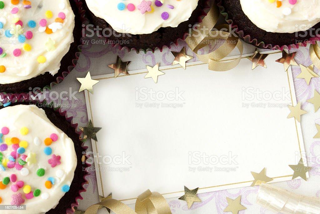 Cupcakes de - foto de acervo