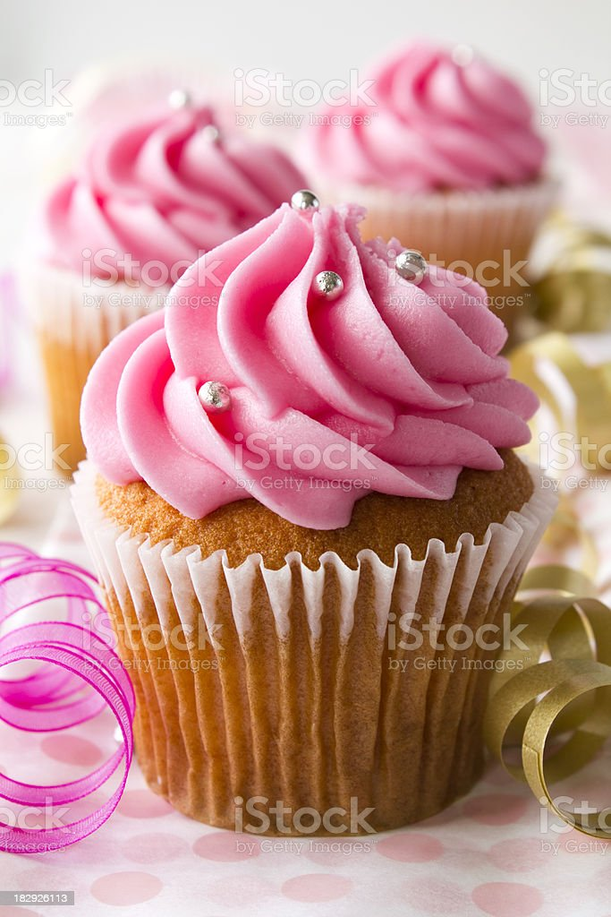 Party Cupcakes royalty-free stock photo