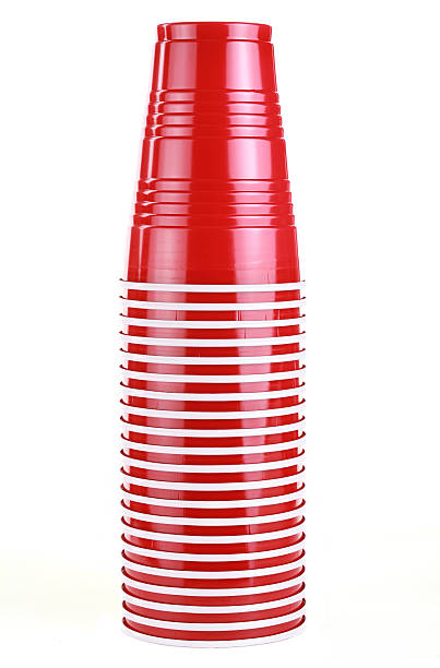 Party Cups stock photo